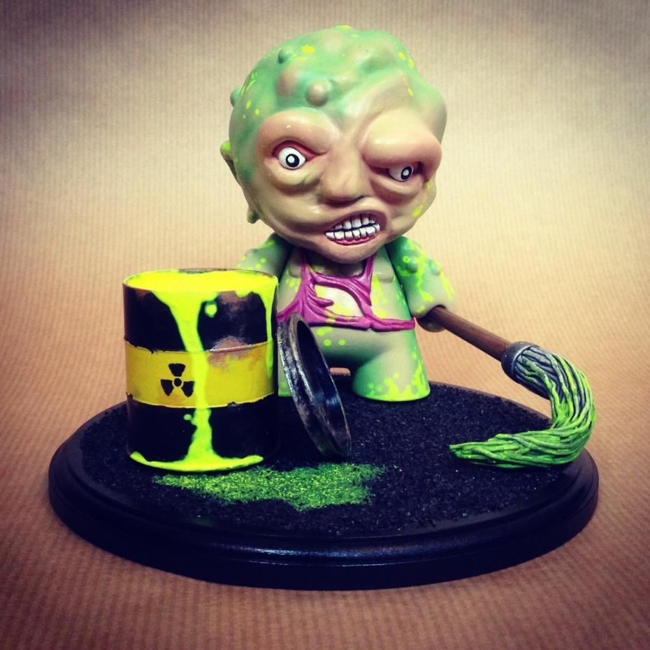 'Toxie' Toxic Avenger Mini Munny